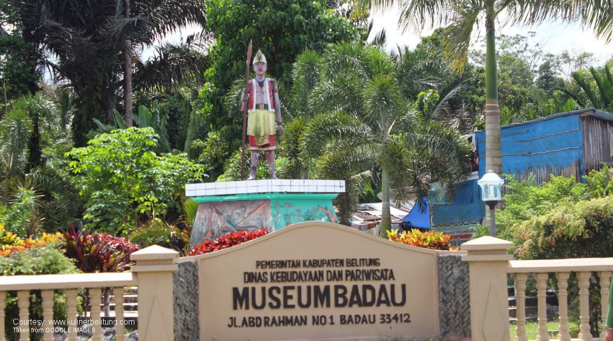 belitung destination Museum Badau
