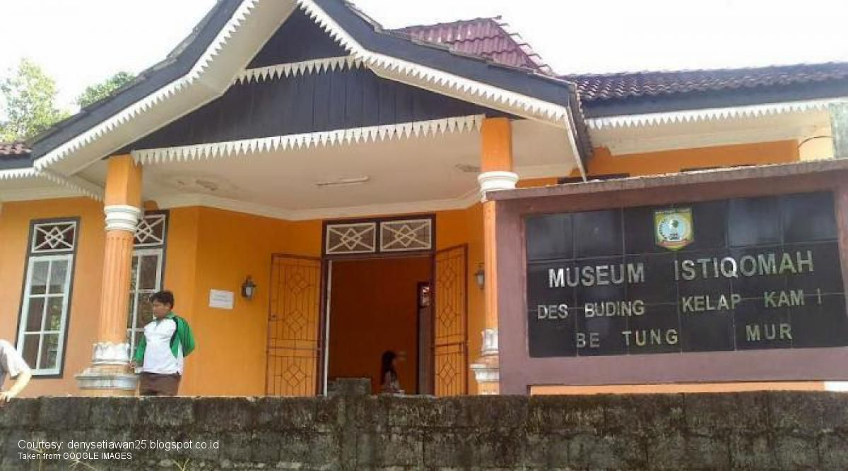 belitung destination Museum Buding