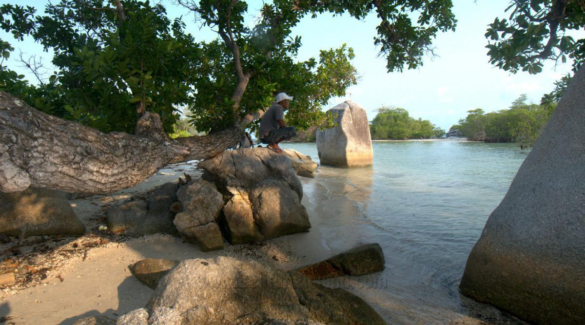 belitung destination Pantai Punai