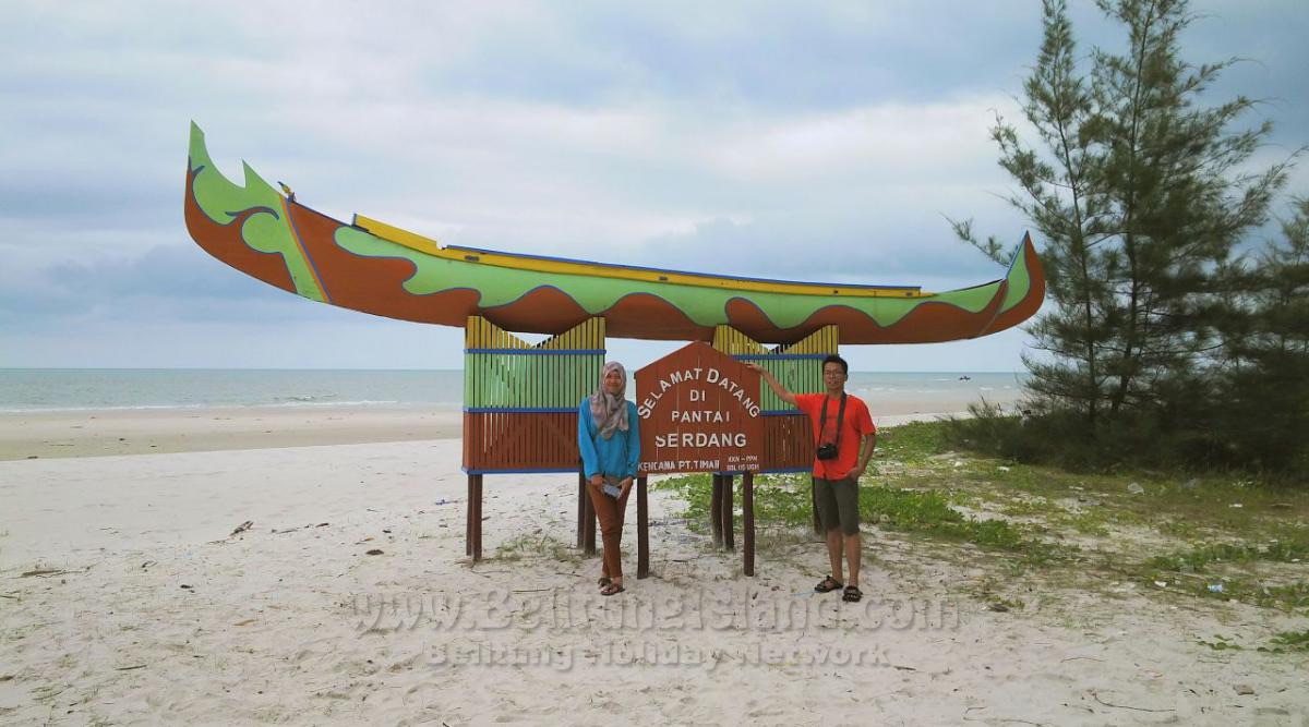 belitung destination Pantai Serdang