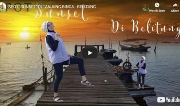 Belitung Video Sunset di Tanjung Binga